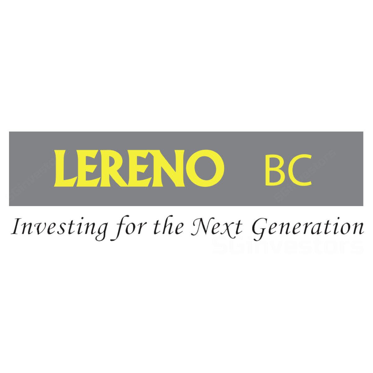 LERENOBIO-CHEM (SGX:XCF) @ SGinvestors.io