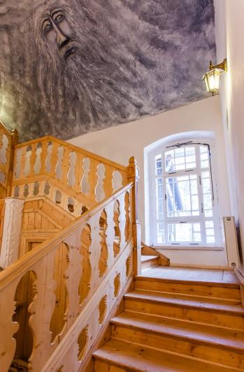 hostel Krokus Karpacz schody
