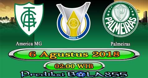 Prediksi Bola855 America MG vs Palmeiras 6 Agustus 2018
