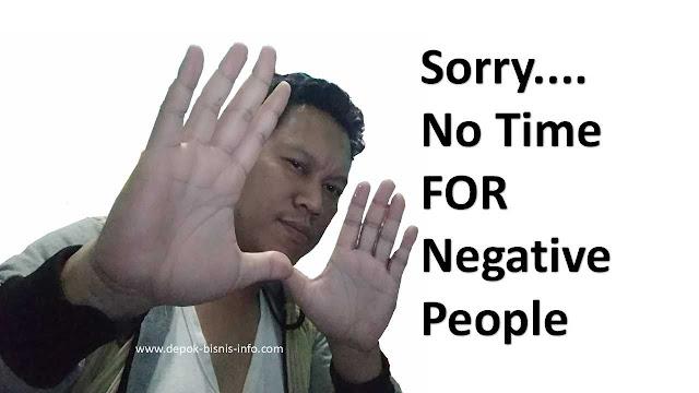 Bisnis, Orang Negatif, Perilaku Negatif