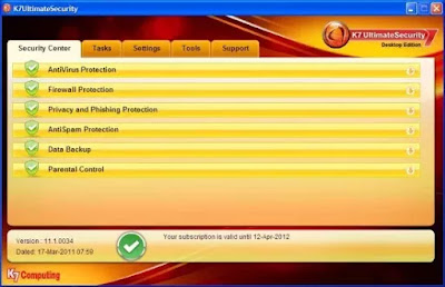 K7 Ultimate Security Gold Free Download