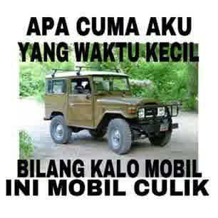 DP BBM Gambar Mobil car funny mobil culik