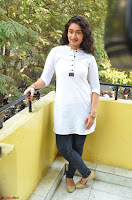 Kiran Chetwani in Denim and White Kurti  Exclusive 043.JPG