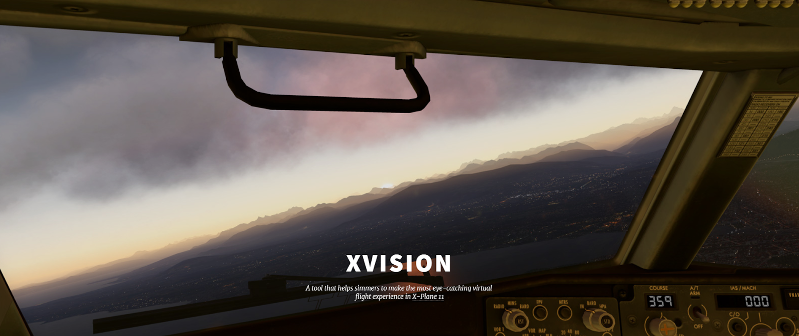 South West Flight Simulation: XVision: X-Plane 11's