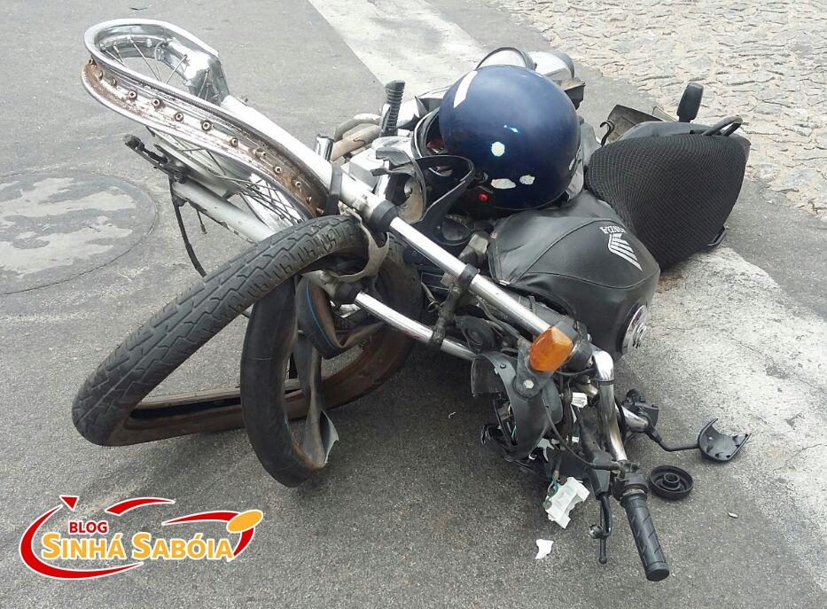 Acidente de moto deixa vítima fatal