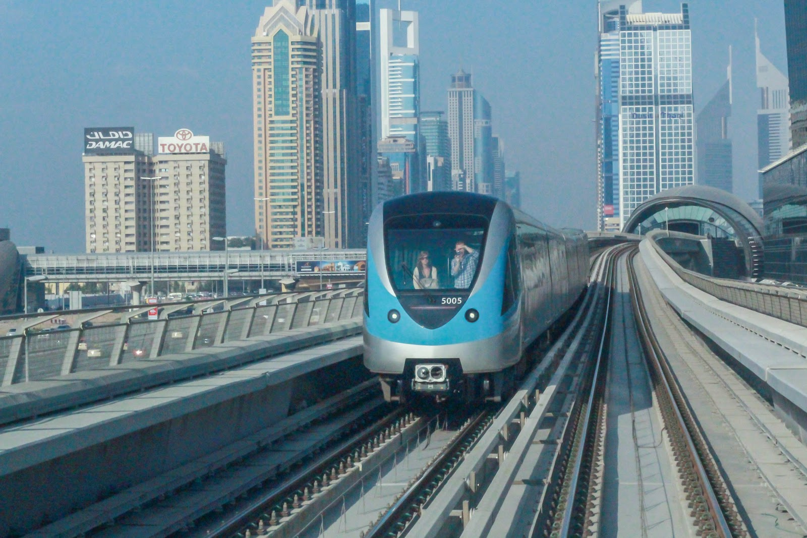 photo of Dubai Metro Station Business Bay