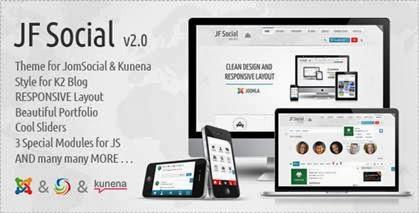 Download JF Social 2 0 – Joomla JomSocial Kunena Template JomSocial