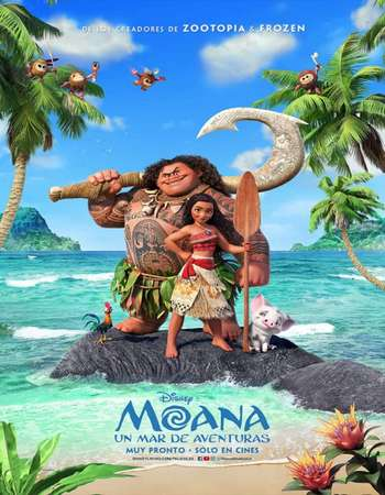 Moana 2016 Hindi ORG Dual Audio 450MB BluRay 720p ESubs HEVC Free Download Watch Online downloadhub.in