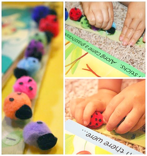 ladybug math activity for preschoolers