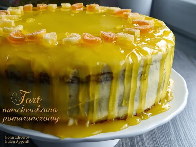 Tort marchewkowy z kremem pomarańczowym - Czytaj więcej »