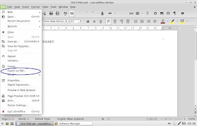 Langkah Mudah Membuat File PDF Dengan Microsoft/Libre/Open Office