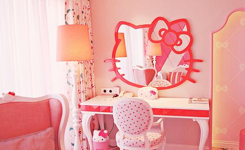 Krazy K: Hello Kitty room/bathroom decor! To die for!!