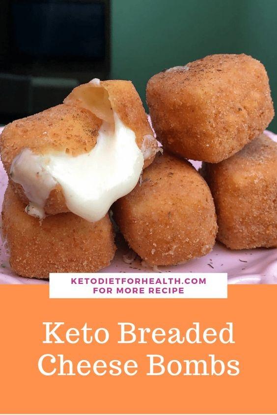 Keto Breaded Cheese Bombs