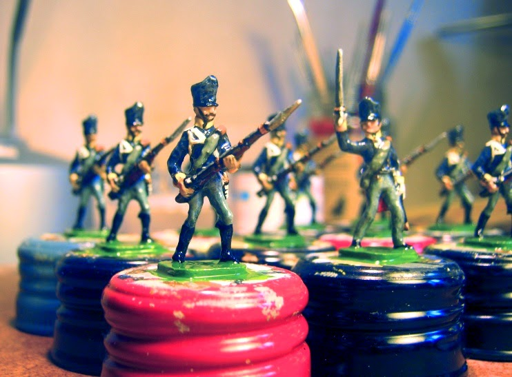 PN 3: Prussian Line Infantry Private, Charging