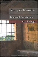 Romper la noche, Ana Fidalgo. Portada del libro
