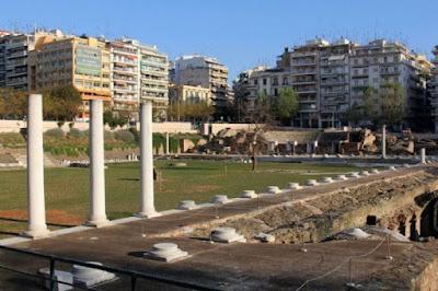 """Εκδήλωση στη Ρωμαϊκή Αγορά από το Σωματείο """"Φίλοι Μνημείων Θεσσαλονίκης"""""""