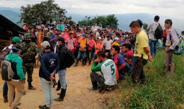 Las comunidades campesinas sufren con la erradicación forzada