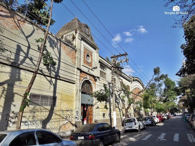 Vista ampla da fachada da Antiga Fábrica da Alpargatas - Mooca - São Paulo