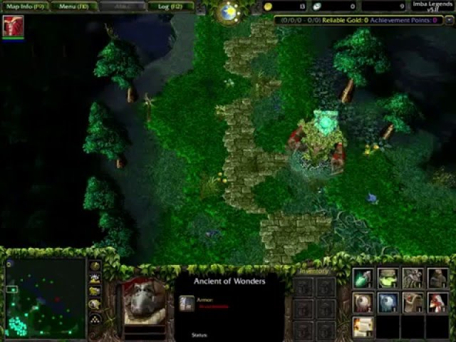 DotA Imba Legend V51f EN AI Map Maps Warcraft 3 AI