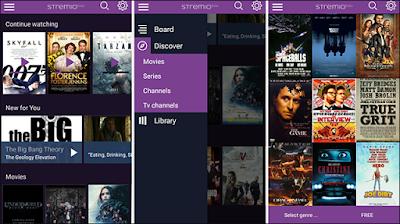 تطبيق لمشاهدة المسلسلات الاجنبية مترجمة للاندرويد, تطبيق Stremio