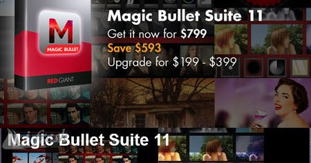 Original Red Giant Bullet Suite 11 Software