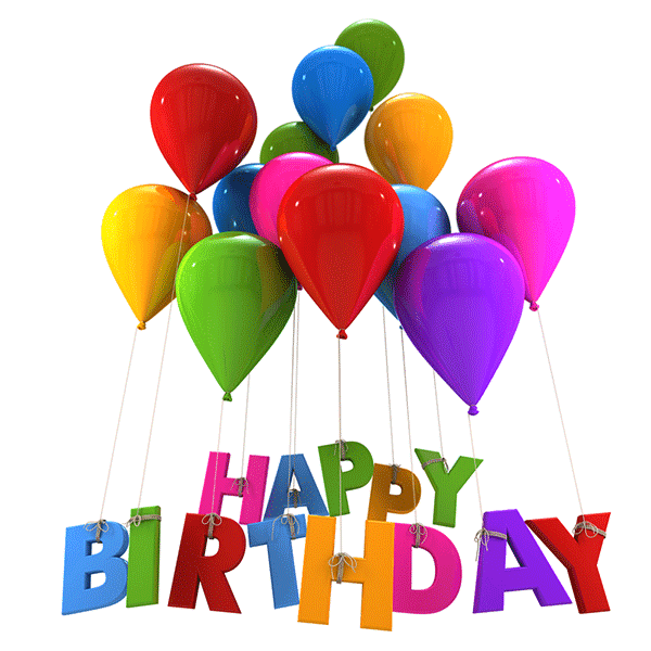 Bold Birthday Balloons