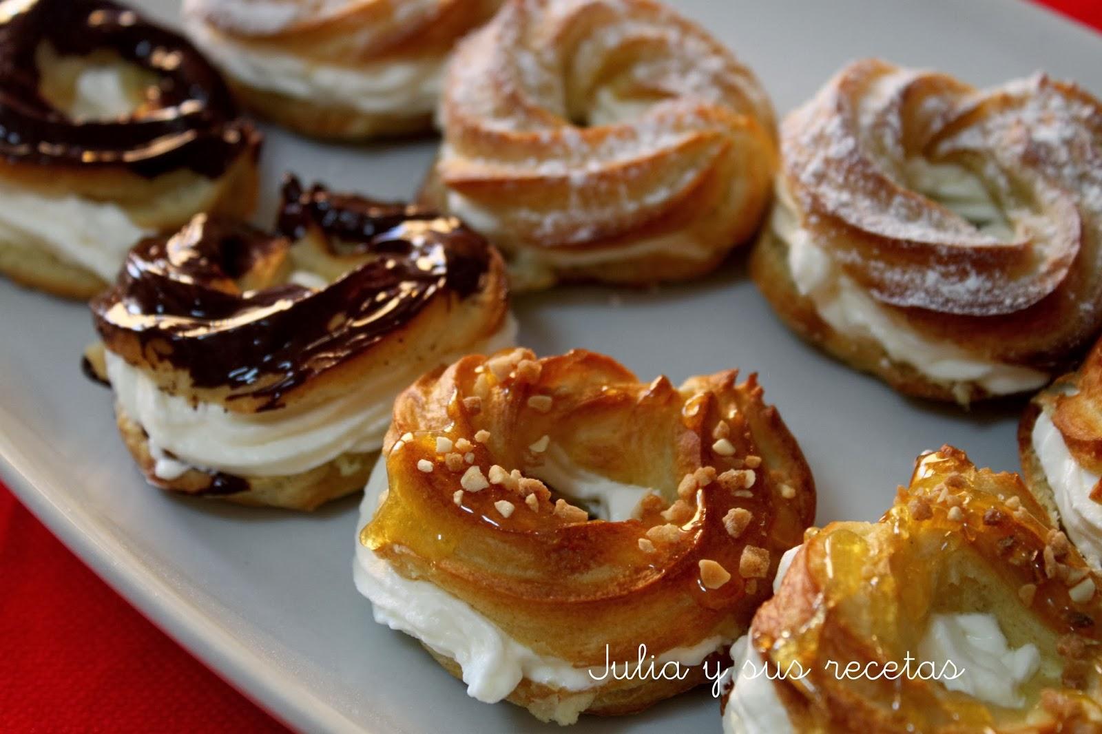 Julia y sus recetas como hacer pasta choux - Blog de postres faciles ...