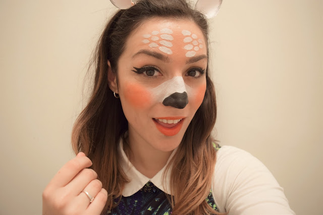 What Cat Says - Halloween Makeup | Snapchat's Deer Filter