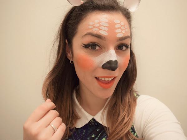 Halloween Makeup | Snapchat's Deer Filter