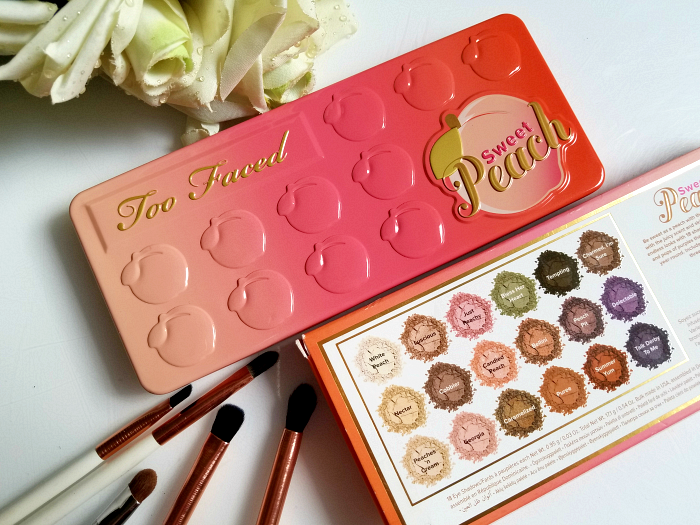 Too Faced - Sweet Peach Eyeshadow Palette 2 Review & Swatches - Madame Keke