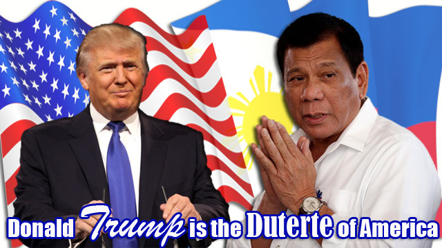 Donald Trump is the Duterte of America