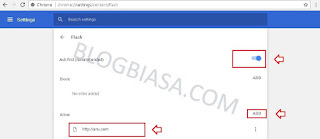 Cara mengaktifkan adobe flash Player di browser google chrome (laptop / komputer / android)