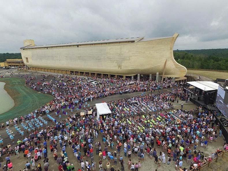 El arca de Noé a tamaño real en Williamstown | Estados Unidos