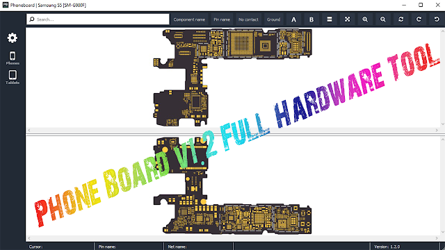 Phone Board v1.2 Full Hardware Tool iPhone,  Redmi, Oppo, Vivo, iPad