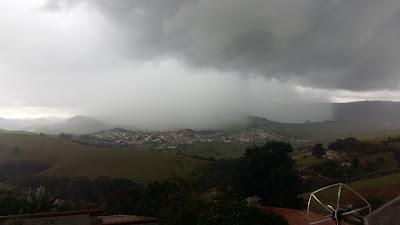 A chuva em Itapeva