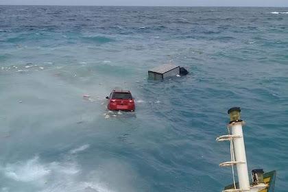 KMP Lestari Maju Karam,Mobil dan Kas Rp30 Miliar Bank Sulselbar Ikut Tenggelam