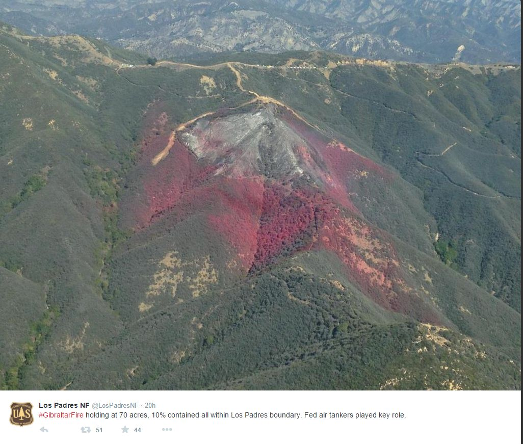 Ca National Forest Map on