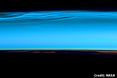 Mysterious 'Noctilucent Clouds Have Returned