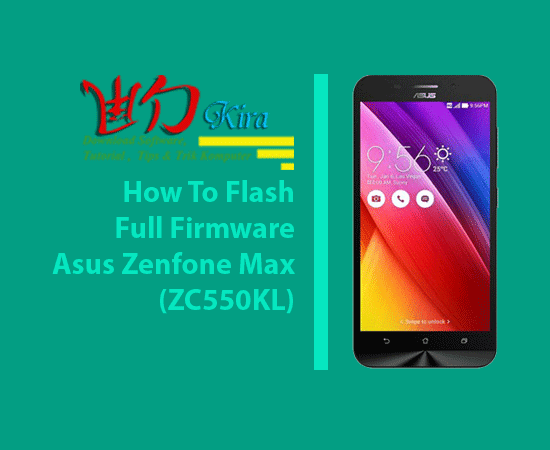 Cara Flash Asus Zenfone Max