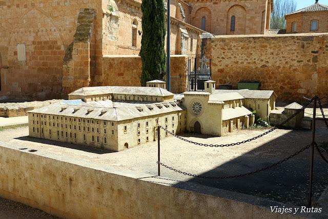 El Monasterio cisterciense de Santa María de Huerta, Soria