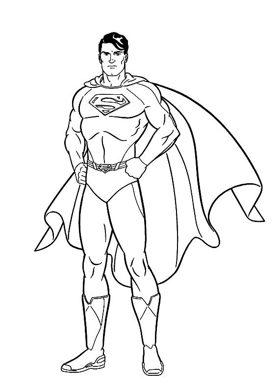 Stampa E Colora Superman