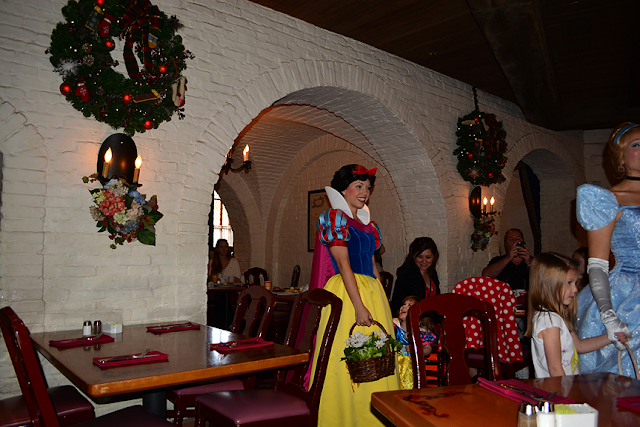 Restaurante Akershus Royal Banquet Hall no Parque Disney Epcot