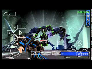 Game Black Rock Shooter: The Game ISO PPSSPP