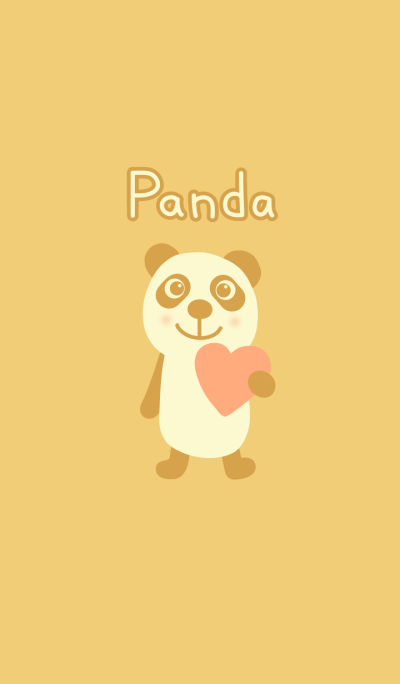 Brown panda