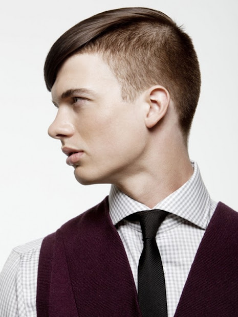 undercut hairstyle men 2012