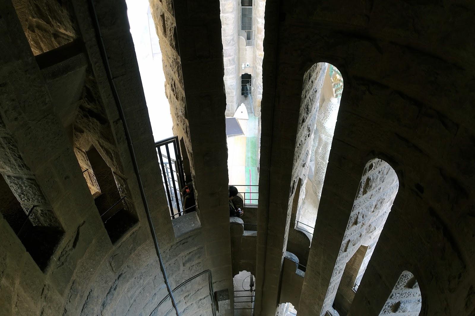 サグラダ・ファミリア (Sagrada Familia) 塔の通路
