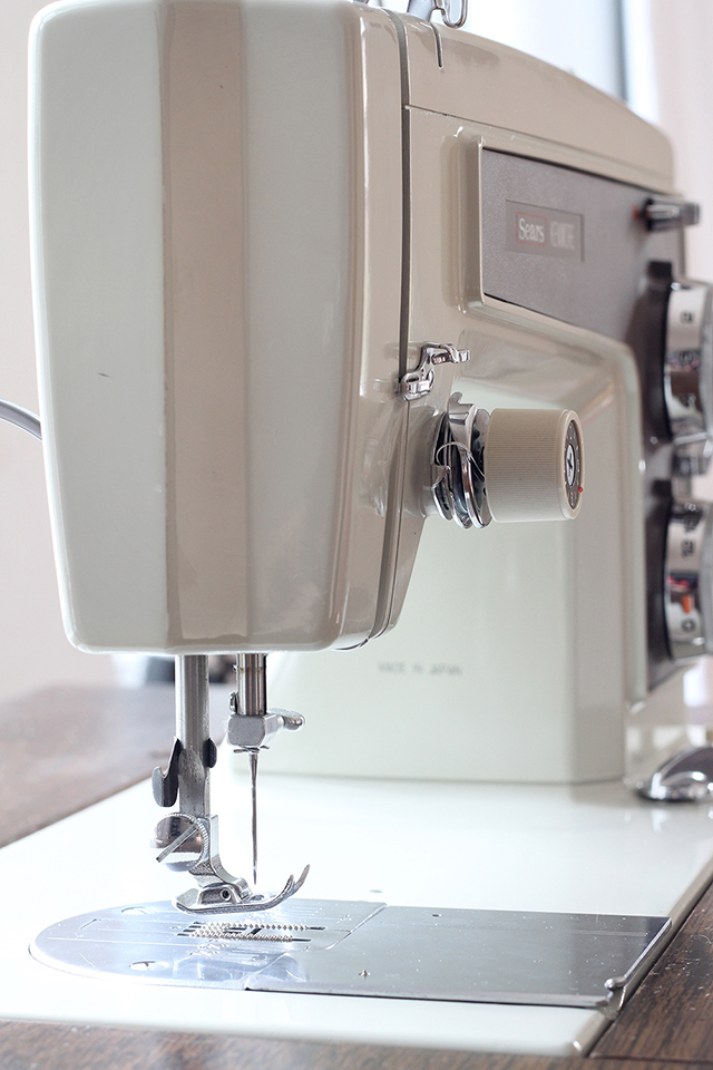 A look a the mechanics of the sewing machine