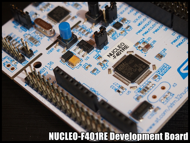 my new board, NUCLEO-F401RE | Embedded things
