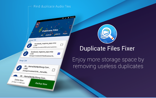 Duplicate Files Fixer App