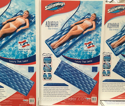 SwimWays Aquaria Baja Breeze Pool Lounger - For a water-full life